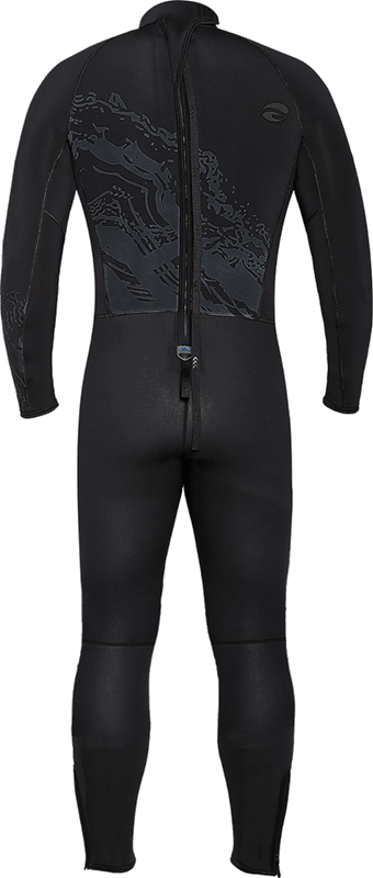 Velocity Ultra 3mm Full Wetsuit - Back