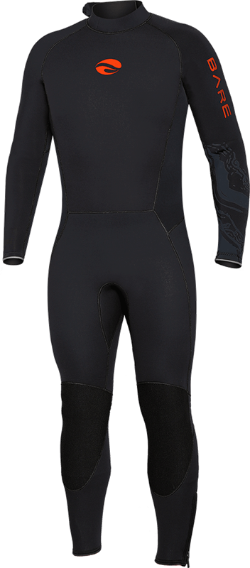Velocity Ultra 3mm Full Wetsuit - Lava
