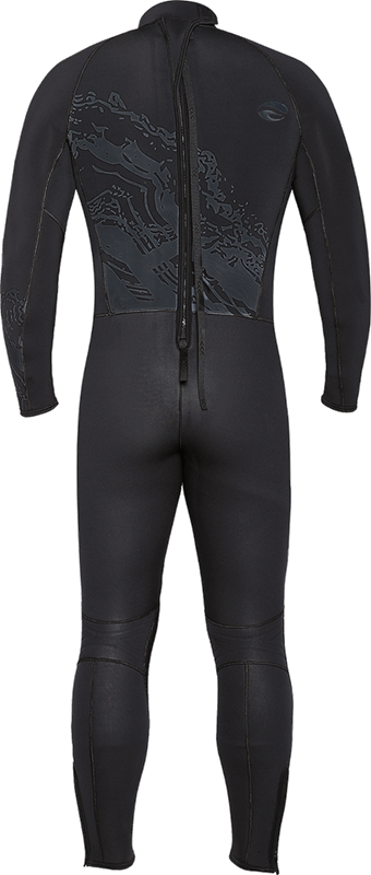 Velocity Ultra 7mm Full Suit - Back View