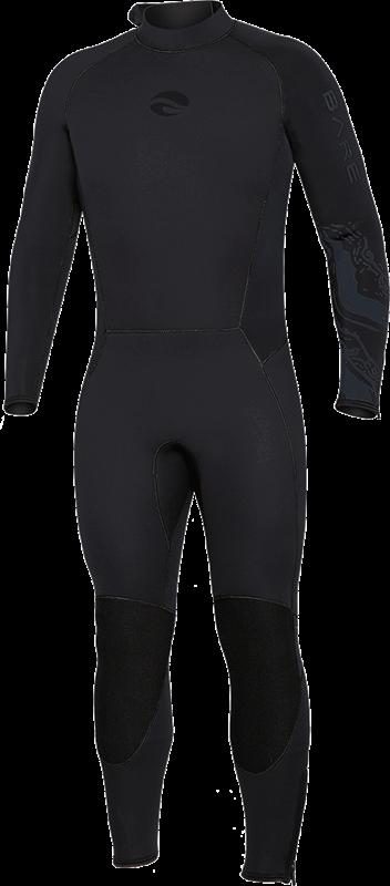 Velocity Ultra 5mm Full Wetsuit - Black