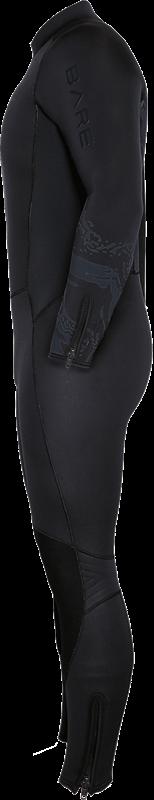 Velocity Ultra 5mm Full Wetsuit - Black Side