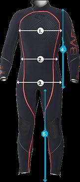 Bare 7mm Wetsuit Full Suit